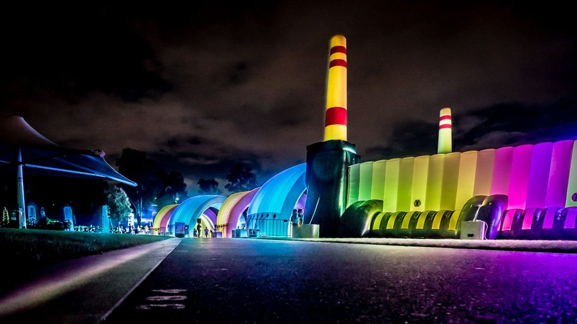 Resolution X - Lighting & Rigging Hire - Electric Run 2014