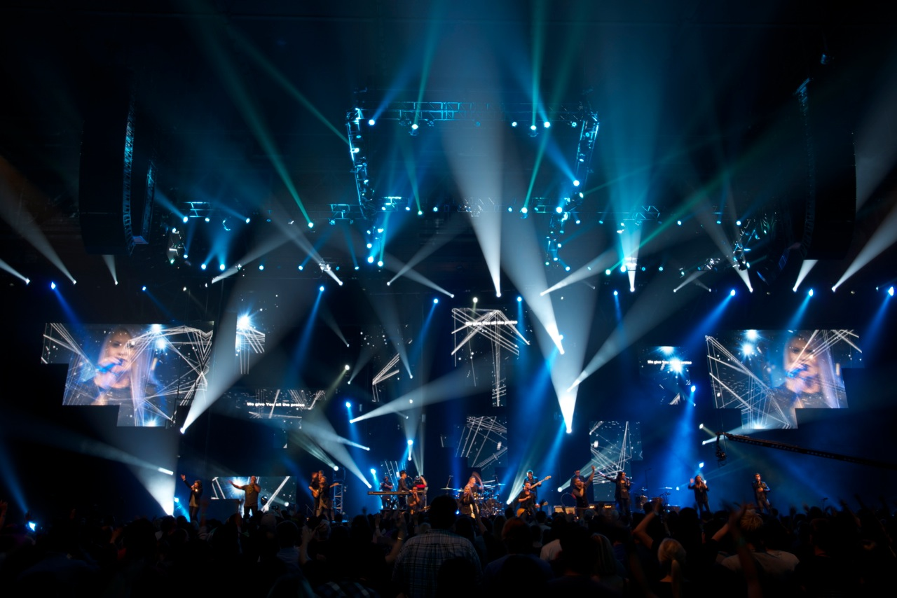Resolution X - Lighting & Rigging - Planetshakers 2013
