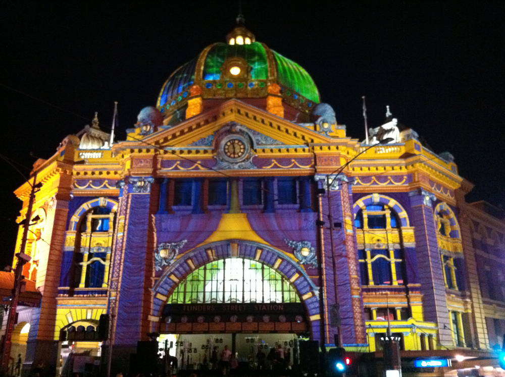 Resolution X - Lighting & Rigging - White Night Melbourne 2013