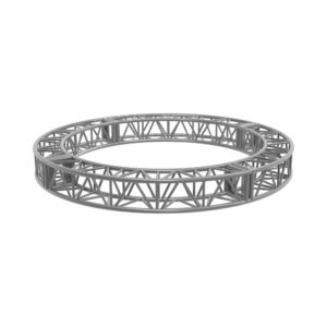 Curved Box Truss 3m quarters