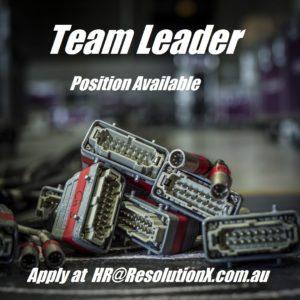 Team Leader Position Available V2