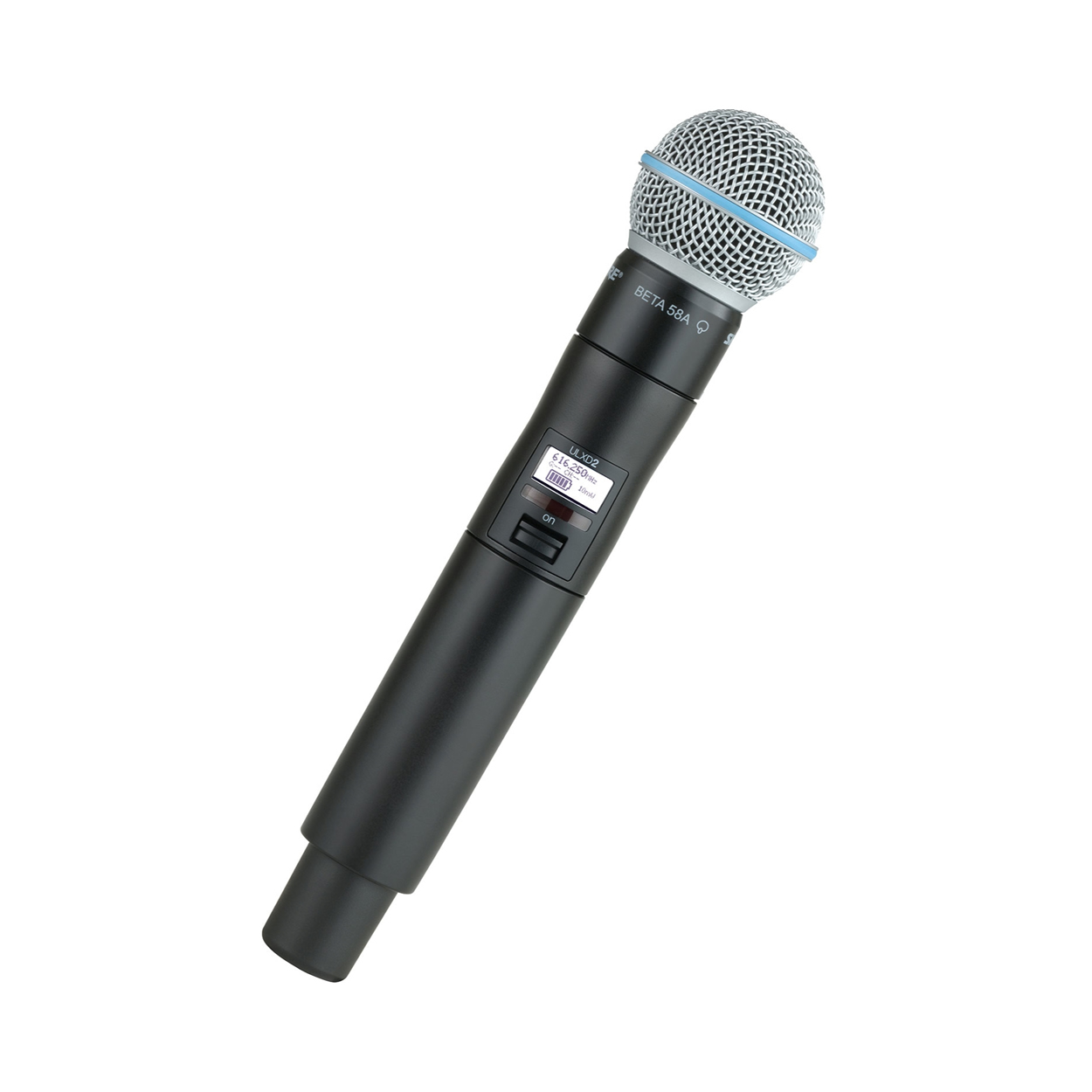 shure ulxd2 beta58 handheld wireless microphone transmitter resolution x. Black Bedroom Furniture Sets. Home Design Ideas