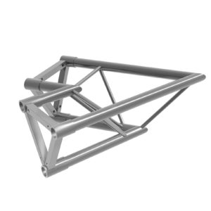 Tri Truss Alloy Horizontal Corner 60 degrees