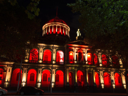 Lighting the Victorian Supreme Court for its 175th Anniversary